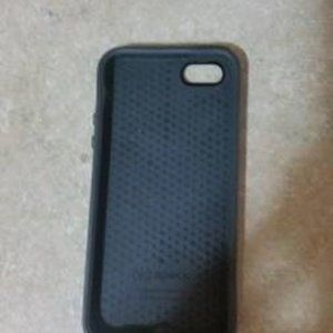 Black Speck Iphone 5 5S Rubber Cell Phone …